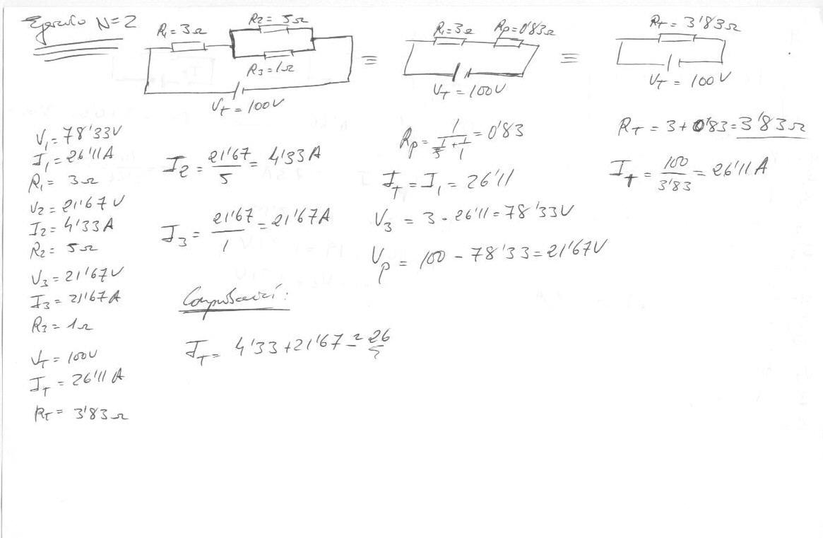 Formulas de circuito