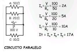 Circuitos En Serie Y En Paralelo Explicación Calculos Y Ejercicios