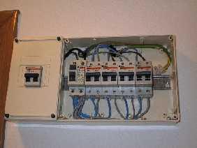 Ejercicios instalaciones electricas en viviendas - Cuadro electrico domestico ...