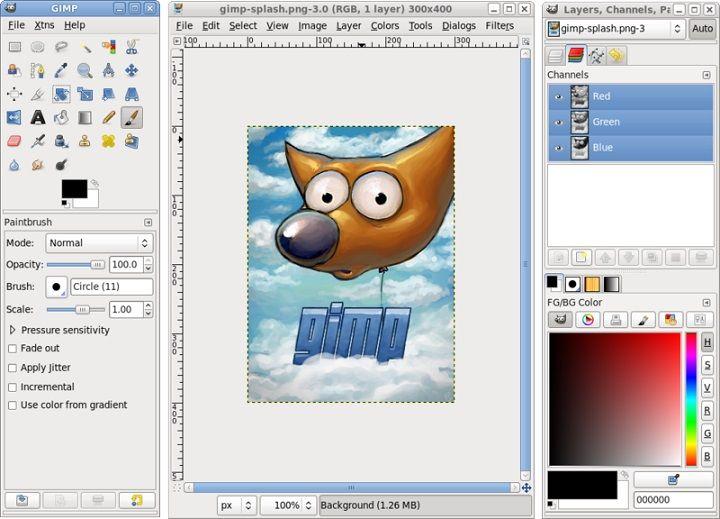 Gimp 2 8 Descargar Gratis Programa Edicion Grafica