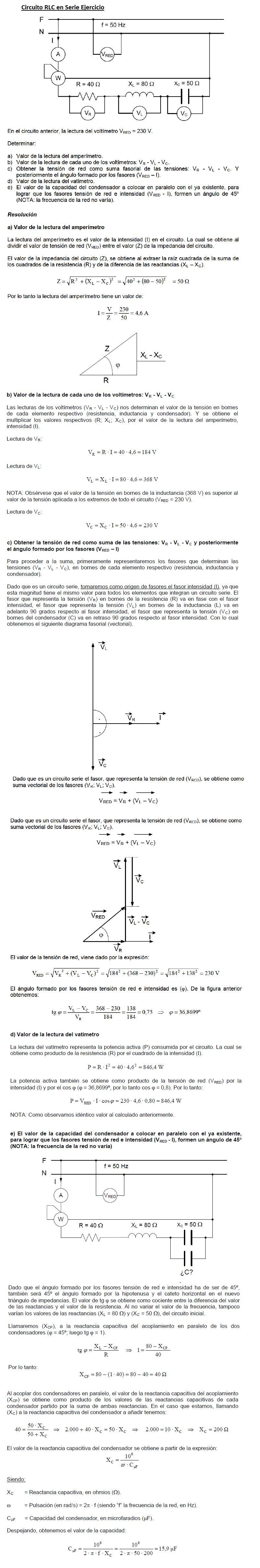 Circuito Rl : Matematicamente u circuito rl calcolo della corrente in