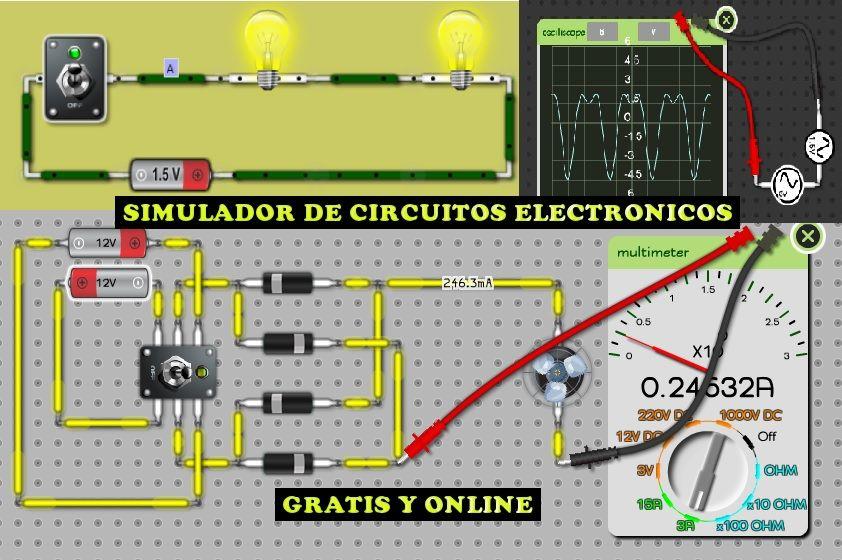 Circuito Electronico : Simulador de circuitos electronicos contafinanzas