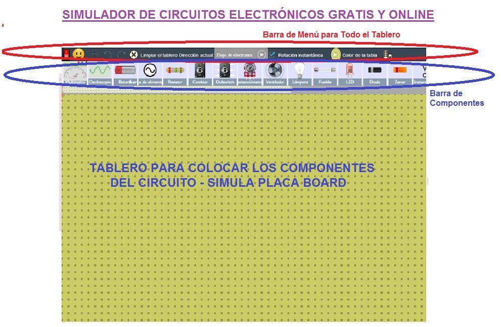 simulador de circuitos online