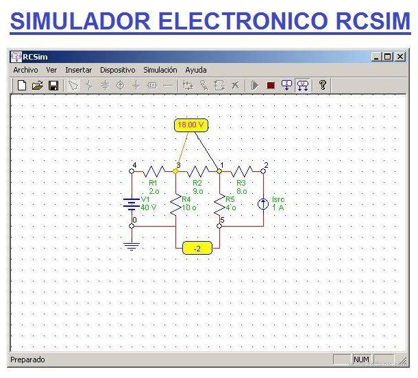 Simulador Electronico Rcsim Descargar Gratis