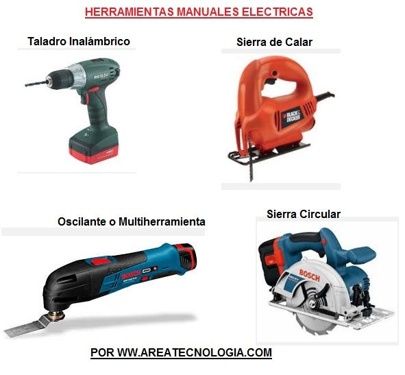 Herramientas el ctricas que son tipos usos seguridad - Herramientas de carpinteria nombres ...
