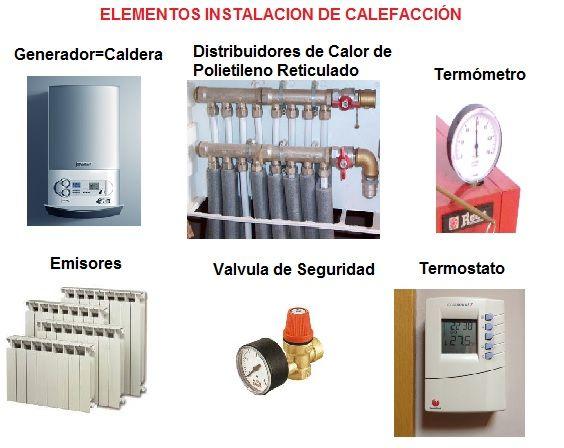 Instalacion de calefaccion en las viviendas for Calderas de lena para radiadores de agua