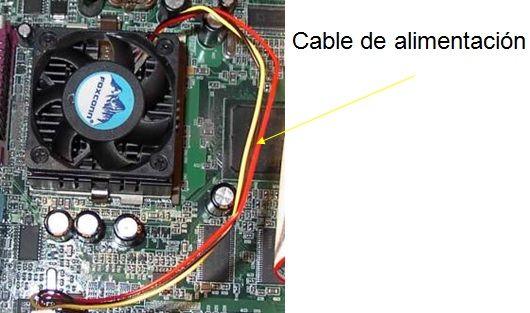 ventilador del ordenador