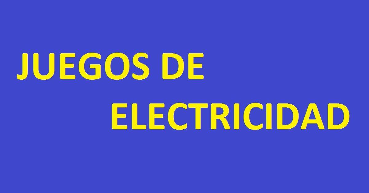 Juegos de electricidad for Electricidad