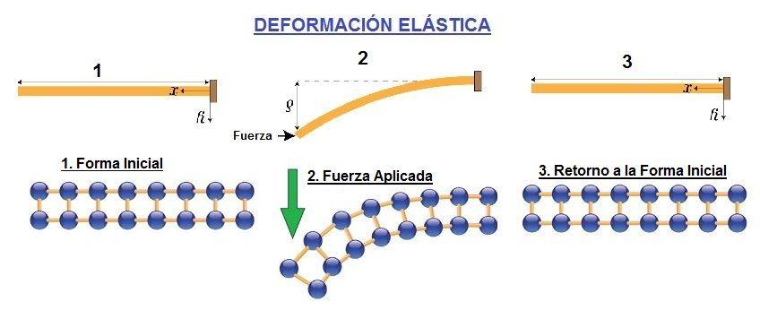 deformacion elastica elasticidad y materiales elasticos