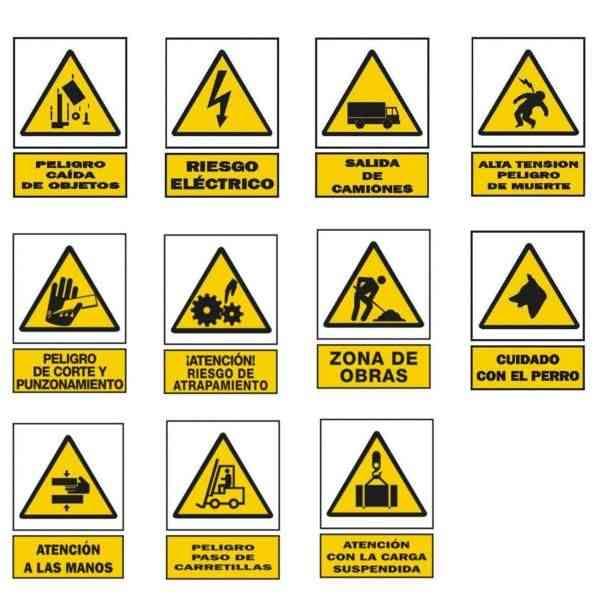 Señales de Seguridad Tipos, Colocación y Formas